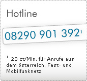 Hotline 0848 87 65 43